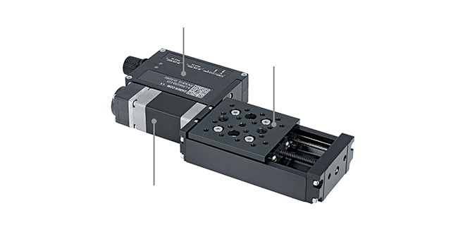 Zaber's linear stage with built-in controller