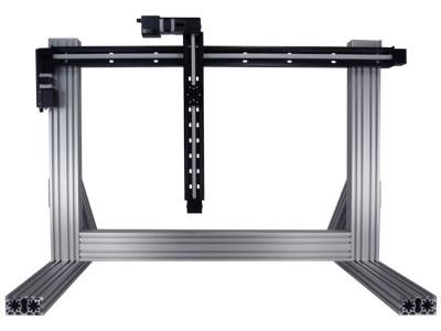 X-XY-LRT0250BL-C Media - Custom Gantry - Zaber Technologies